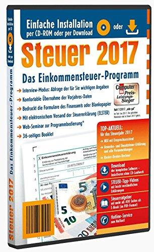 Aldi Steuerprogramm Einkommenssteuer 2017 - Steuer 2017 CD Software