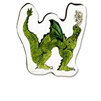Knights & Dragons Wooden Letter - W