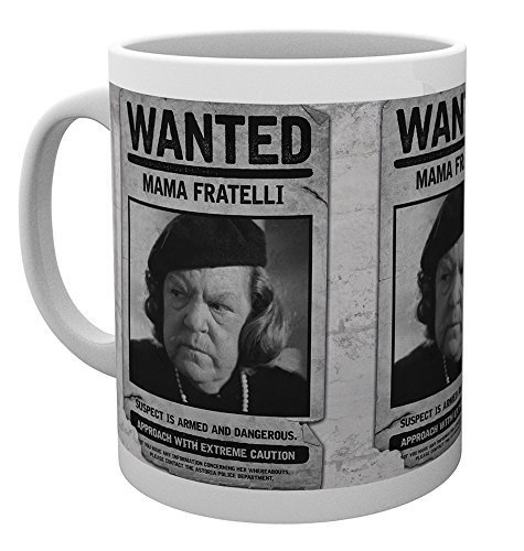 Wanted Mama Fratelli Poster Mug - high quality in a sturdy box