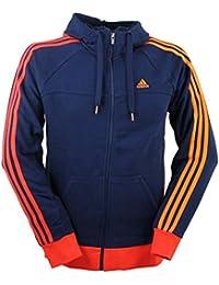 Adidas Essentials Sweat à capuche zippé/ess 3s lifz Pull à capuche pour homme