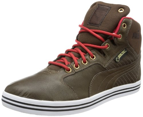 Puma Tatau Mid L GTX, Herren Hohe Sneakers, Braun (chocolate brown-haute red-bronze-black coffee 03), 39 EU (6 Herren UK)