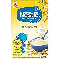 NESTLÉ Papilla 8 cereales - Alimento para Bebés