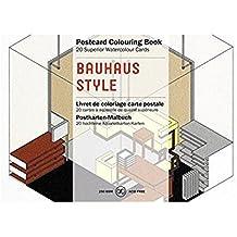 Libro de Artistas para Colorear con 20 Postales Diseños BAUHAUS Postal 6235 7068