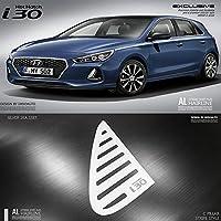 lightkorea al pelo línea ventana deportes placa panel 2pcss para Hyundai i30 ...