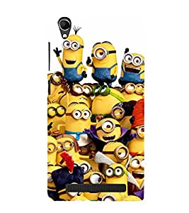 Popular Cartoon Character 3D Hard Polycarbonate Designer Back Case Cover for Intex Aqua Power Plus :: Intex Aqua Power +