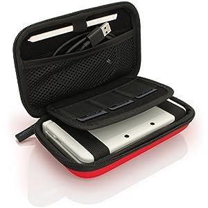 iGadgitz U3605 – Eva Hart Schutzhülle Kompatibel mit Nintendo 3DS (Nicht FÜR 3DS XL) – Rot
