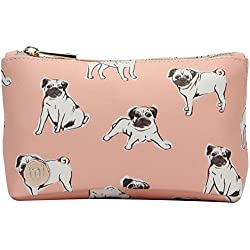 Mi-Pac Make Up Bag Neceser, 20 cm, Litros, Pugs Peach