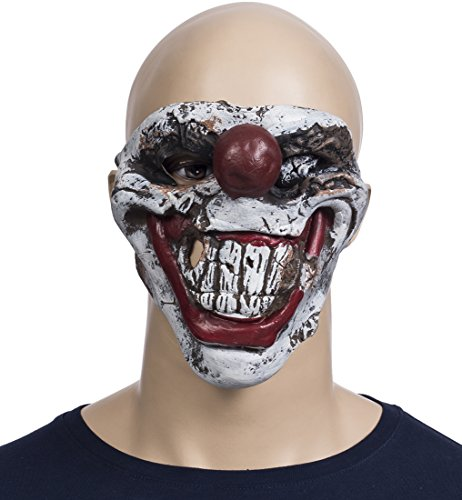 Horrormaske aus Latex fürs Gesicht -