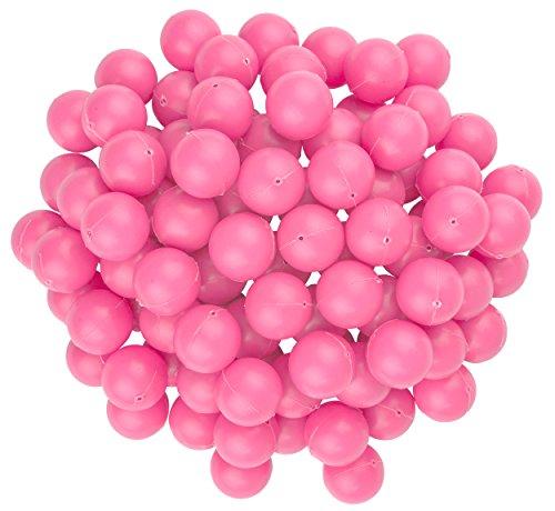 Fairly Odd Novelties Mini-Tischtennisbälle, 19 mm Durchmesser, 100Stück, rose, 19 mm