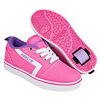 Heelys Unisex Kids Fitness Shoes, Multicolour (Pink/White/Lilac 000), 2 UK