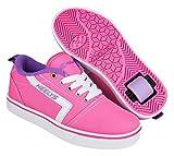 Heelys Chaussures de Fitness Mixte Enfant, Multicolore (Pink/White/Lilac 000), 32 EU
