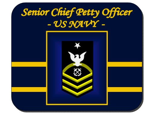 SENIOR CHIEF PETTY OFFICER - US Navy Mouse Pad