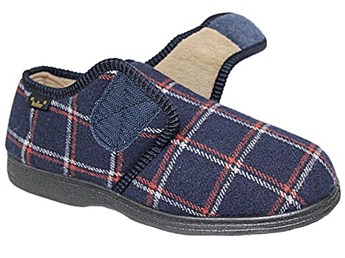 Ld Outlet, Ragazzi Pantofole Navy / Tartan