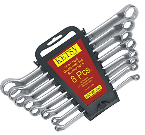 KETSY 531 RING SPANNER SET OF 8 PCs  available at amazon for Rs.535