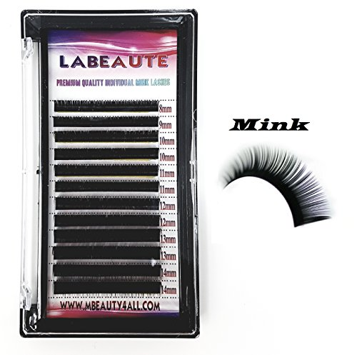 Labeaute russo xd volume lashes individual eyelash extensions 0.10/b-curl (mix (8 – 14 mm))
