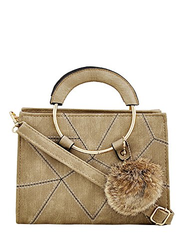 Mark & Keith Women Brown Handbag(MBG 0487 BN)