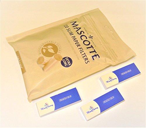 mascotte Organic Slim Papier Filter Tasche 120x 5Stück (insgesamt 600Filter) von Trendz