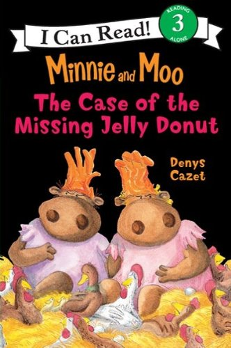 Minnie and Moo: The Case of the Missing Jelly Donut (I Can Read Level 3) (English Edition)