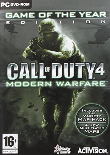 Call of Duty 4 Modern Warfare GOTY (PC DVD) 51eBvtqpsZL