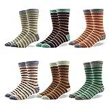 RioRiva En caja de regalo, los calcetines para hombre con pedrería en 90% algodón, bonito diseño en la pantorrilla, estilo colorido