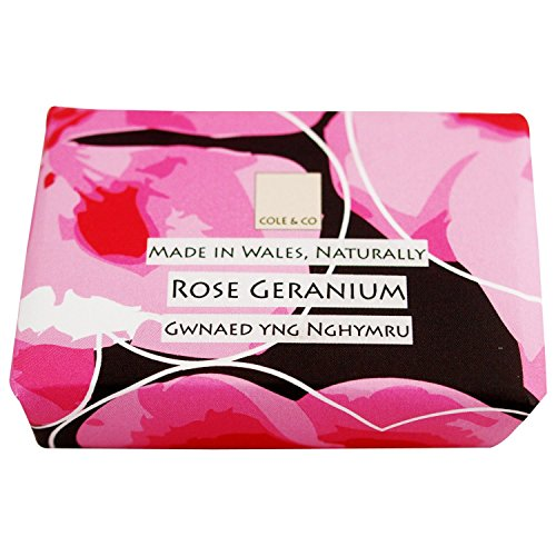Cole & Co Géranium Rose Savon 80G (Lot de 2)