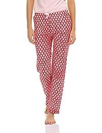 Clovia Women Cotton Pyjama With Floral Prints