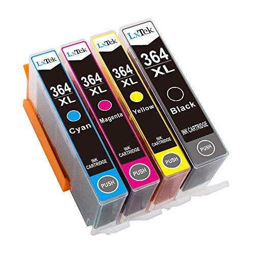LxTek Kompatibel Tintenpatronen Ersatz für HP 364XL 364 Hohe Kapazität 4 Pack...