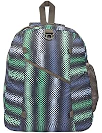 Ek Retail Shop Polyester Colorful Backpack For School & College Students. Dimensions: 40cm X 30cm X 10cm