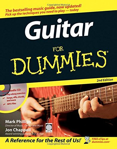Guitar For Dummies by Mark Phillips (2005-10-14)