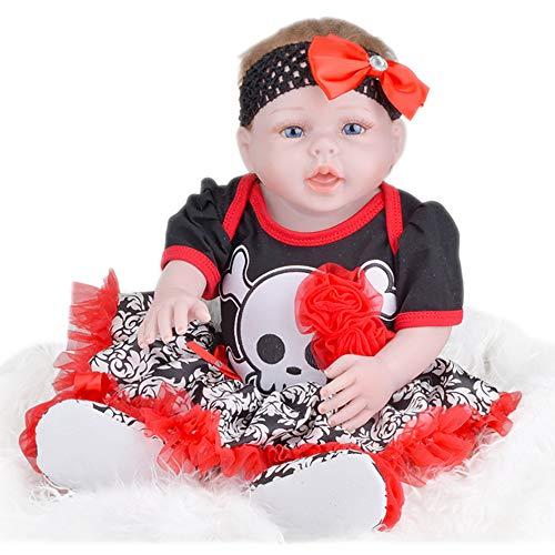 Oliviavan-Puppe Puppen Wiedergeborene Dolls Simulationspuppen Frühkindliche Erziehung von Mutter und Kind betreuen Super süße Dolls