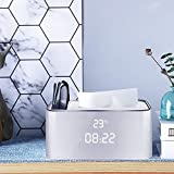 ZMYLOVE Caja de pañuelos de plástico, Cubierta de la Caja de Tejidos...