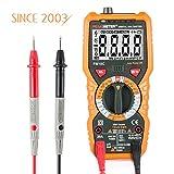 Multímetro Digital Profesional Janisa PM18C AC DC Voltimetro Amperimetro Tester sin Contacto Resistencia sonda Temperatura Resistencia Tensión de Auto