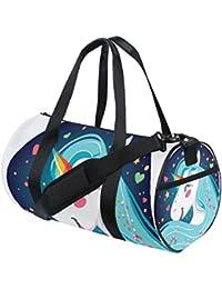 COOSUN - Bolso bandolera con diseño de unicornio brillante para hombre y  mujer d200beff4b4f6