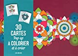 30 cartes pop-up à colorier et à créer