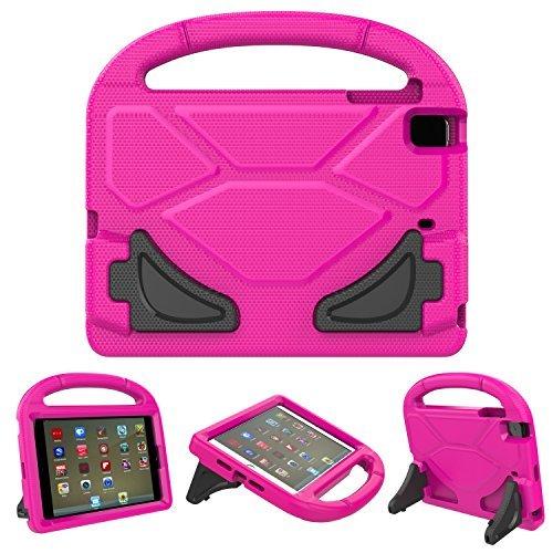 Schutzhülle für iPad Mini, iPad Mini 2/Mini 3/Mini 4Fall, ubearkk [stoßfest] Case Light Gewicht kinderfreundlich Case Super Schutz Cover Griff Stand Case für Apple iPad Mini 1/2/3/4 rose (Fall Ipad Kinderfreundlich)