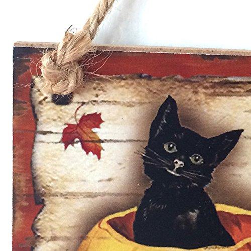 Halloween Türschild Happy Halloween Holzdekorationen Anhänger Tür Schädel Geist Hexe Hanging Party Dekoration Requisiten