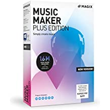 Music Maker - 2019 Plus Edition - Produce, record and mix music|Plus|1 Device|-|PC|Disc
