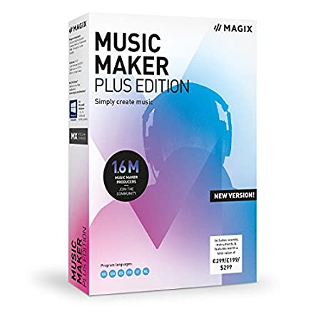 MAGIX Music Maker 2019 Edition Produce Record and Mix Music