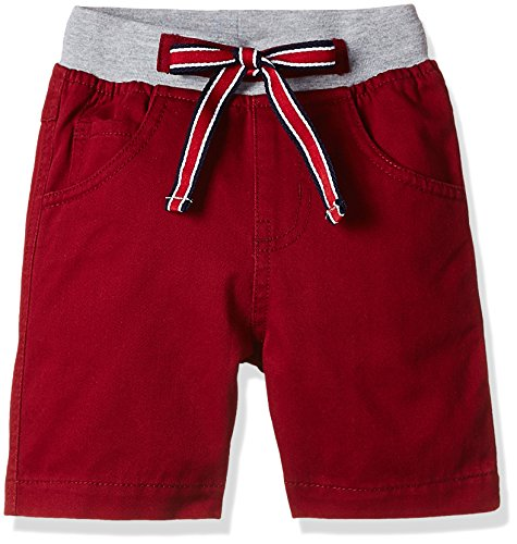 612 League Baby Boys' Shorts (ILS00S310005-6 - 12 Months-RED)