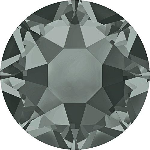 Swarovski Kristalle 5091377 Strasssteine Hotfix 2078 SS 30 Black Diamond A HF, 288 Stück