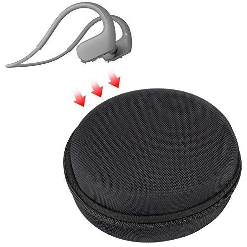 Tangxi Auricolare Bluetooth a conduzione ossea Custodia Auricolare, Custodia da Trasporto in Nylon, Custodia Protettiva per Sony NW-WS623 Auricolare Bluetooth a conduzione ossea Auricolare