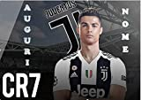 Party Store Web by casa Süßes Zuhause F.C. Juventus Cristiano Ronalda OSTIFF FÜR PERSONALISIERTORTEN - Kit Nr. 1 CDC- (1 CYALDA in OSTIFF A4 210 × 297 mm)