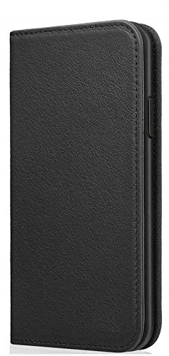 Helix Dustproof Magnetic Wallet Leather Premium Flip Cover for Samsung Galaxy A9 Pro  2016    Black