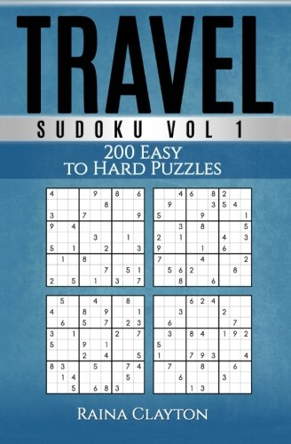 Travel Sudoku: 200 Easy to Hard Puzzles: