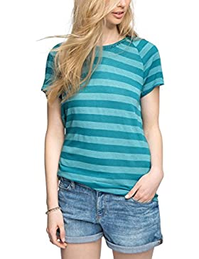 edc by Esprit Mit Rückenausschnitt, Camiseta para Mujer