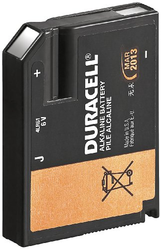 Duracell Photo Batterie Alkaline (6Volt) Flat Pack (J 7K67)