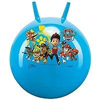 Printed hopper ball, bouncy ball, jumping ball, space hopper, hopper ball for inside and outside, re-inflatable, robust, fitness for children