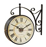 10 inch Double Side Antique Clock with S...