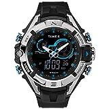 Timex Herren Digital Uhr mit Harz Armband TW5M23000