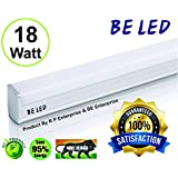 BE 18 Watt High Luminance Led Tube Light Size 1.7 Feet (Pack Of 01,Cool Day White With One Yaer Warranty And Brightness 2150 Lumins Guaranteed) (High Quality, 100% Satisfaction